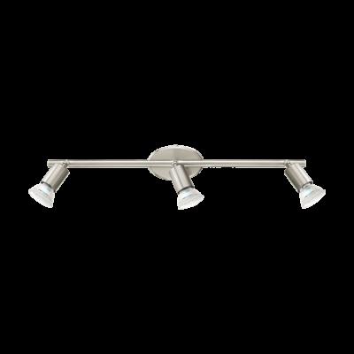 Eglo Buzz 3 spot LED stål