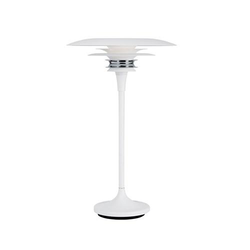 Belid Diablo bordlampe mat hvid Ø30 D4366