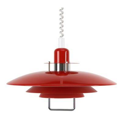 Belid Primus II T1214 rød pendel med hejs
