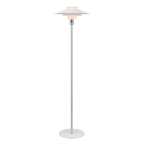 Halo design Rivoli gulvlampe hvid/krom