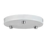 Halo Design loftroset til 3 lamper, hvid