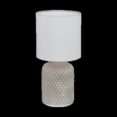 Eglo Bellariva bordlampe oliven/hvid