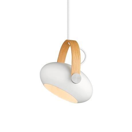 Halo Design DC pendel hvid/eg Ø18