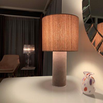 H Living Hygge bordlampe Rose/Tweed
