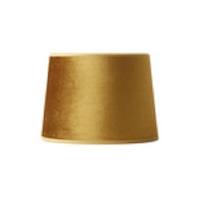 Nielsen Light Milano velour lampeskærm guldgul 147320