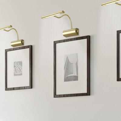 Trio Curtis galleri lampe