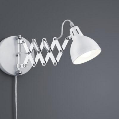 Trio Scissor væglampe hvid