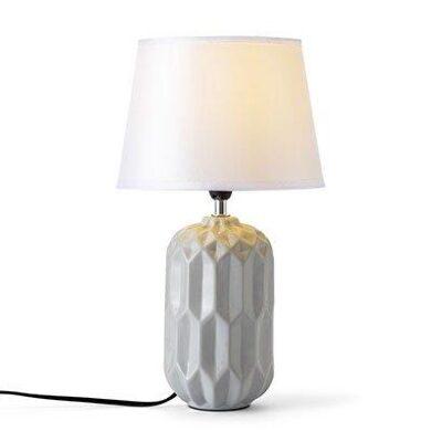 Hagro Narva bordlampe grå