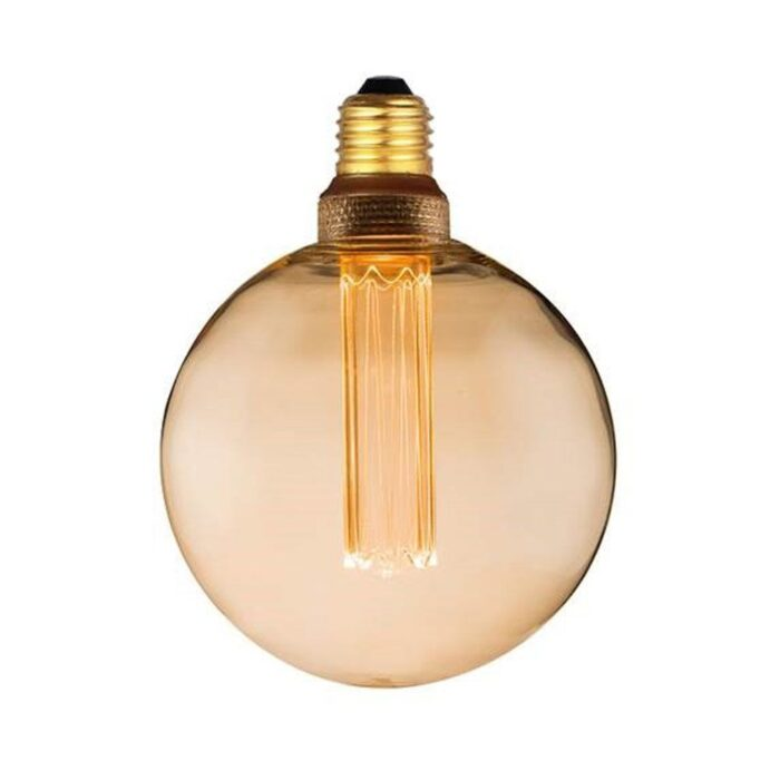 COLORS DIM LED Globe E27 5W Amber