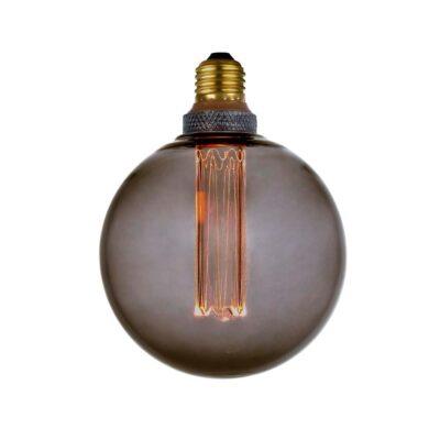 COLORS DIM LED Globe G125 SMOKE E27, 3-step