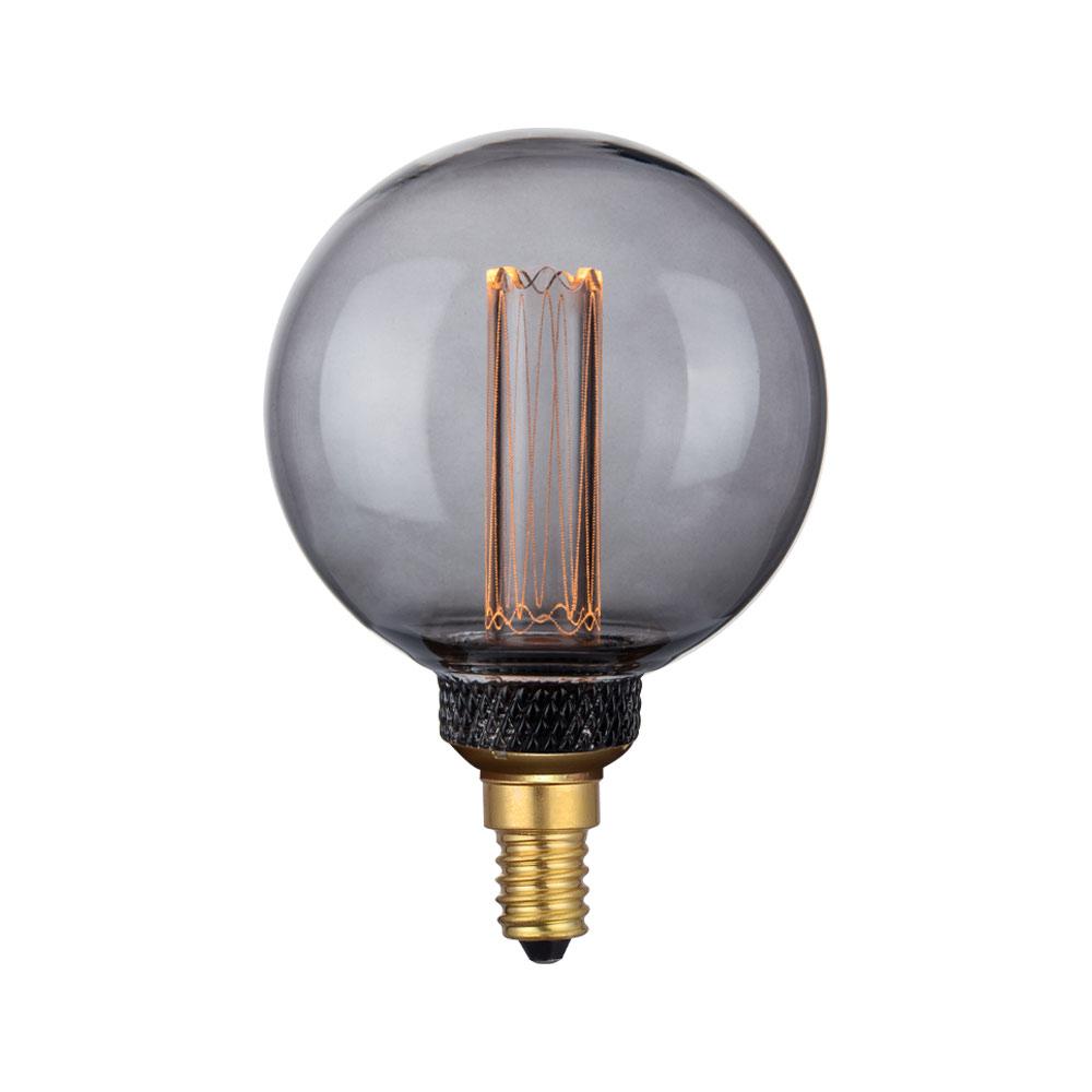 COLORS DIM LED Mini Globe E14 G80 SMOKE